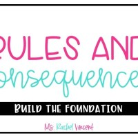 Rules and Consequences in the Classroom