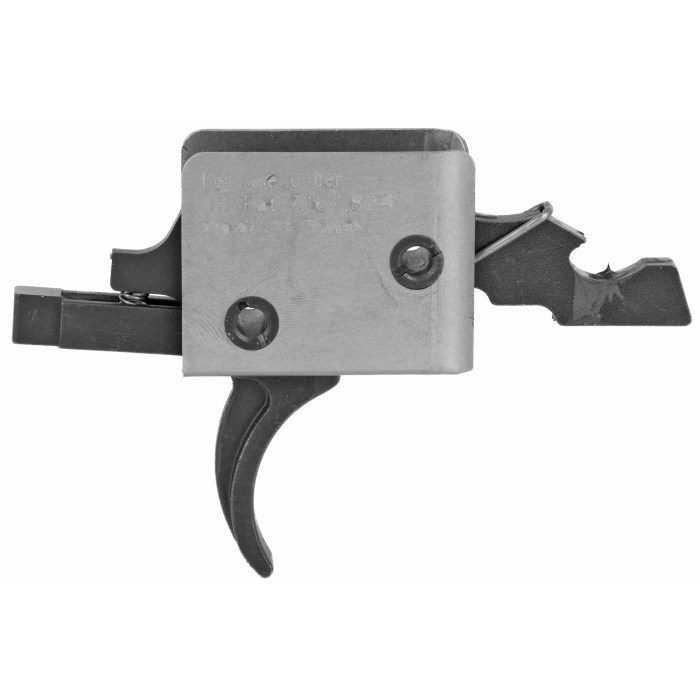 CMC Standard Single Stage Curved Trigger - Small Pin - MSR Arms
