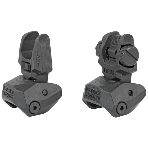 FAB Defense Folding Back-up Sight Set - MSR Arms