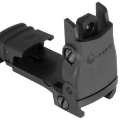 Mission First Tactical Back Up Polymer Flip-Up Rear Sight