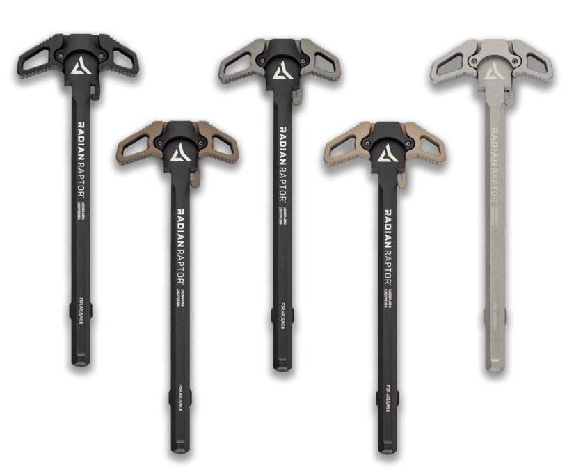 Radian Weapons Raptor Ambidextrous Charging Handle (Options)
