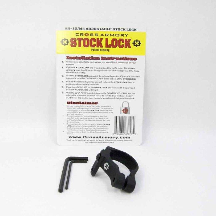 Cross Armory Stock Lock