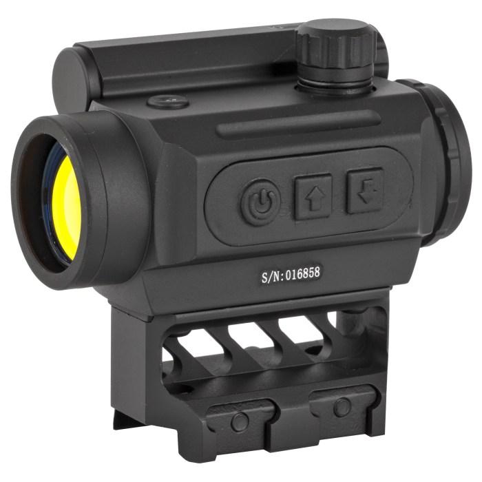 Black Spider Optics M0129 Micro Red Dot - MSR Arms