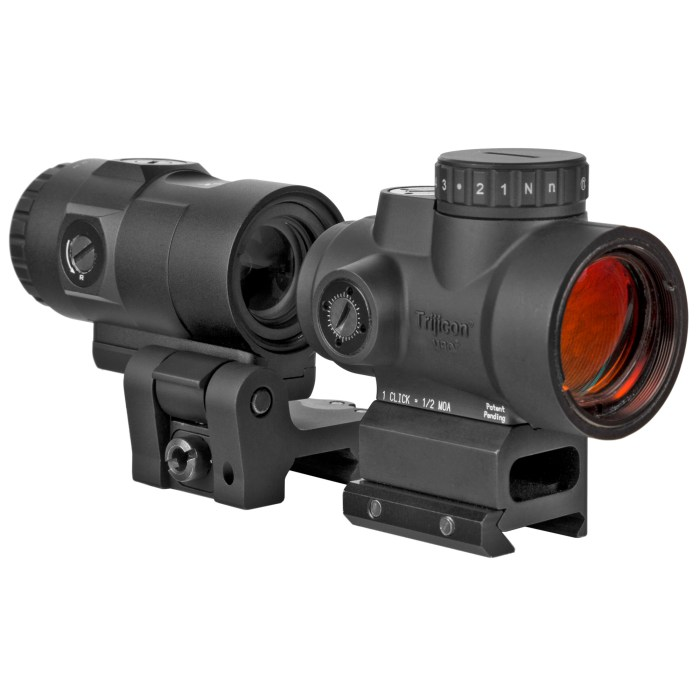 Trijicon MRO HD Red Dot Sight With 3x Magnifier - MSR Arms