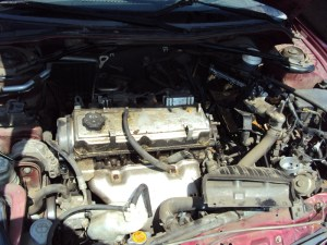 2001 MITSUBISHI ECLIPSE CONVERTIBLE 24L ENGINE, AUTOMATIC