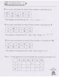 Divisibility Rule Worksheets 2 5 10 - worksheet using ...