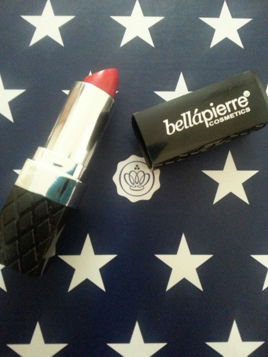 Bellapierre Cosmetics Lipstick in Ruby Red from July Glossy Box