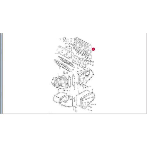 Porsche 911 Engine Cam Tower SWB 90110501250 Dated 65