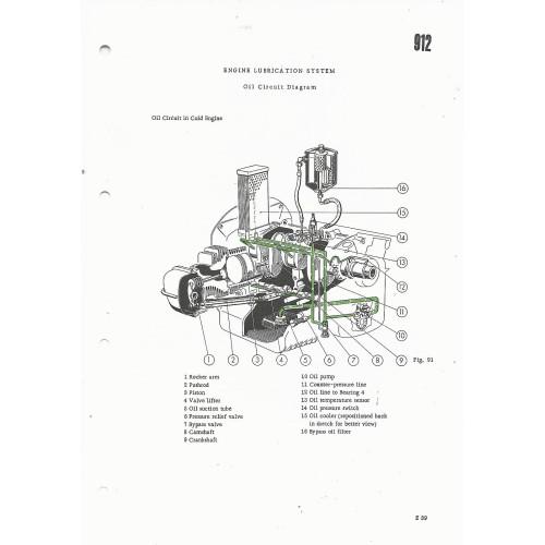 Porsche 912 Factory Service Manual 1966-1969 WKD480620
