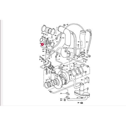 Porsche 930 965 Engine Oil Pump External 96410700521 B