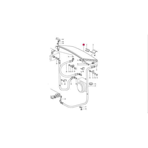 Porsche 930 Early 3.0 Turbo Rear AC Condenser 93057305600