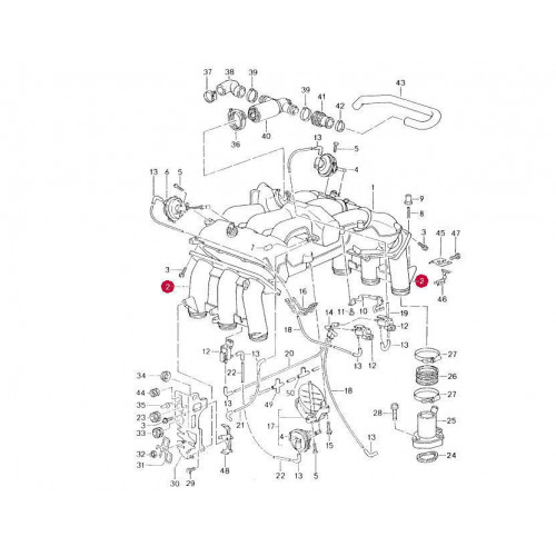 [DIAGRAM] Porsche Boxster Engine Vacuum Diagram FULL