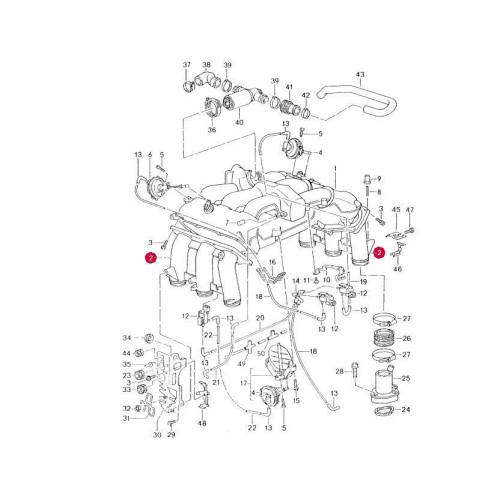 1998 Porsche Boxster Vacuum Diagram. Porsche. Auto Wiring