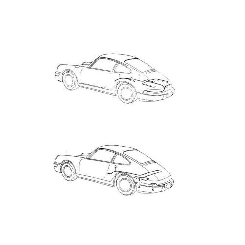 Porsche 964 DME Engine Harness 96461217302