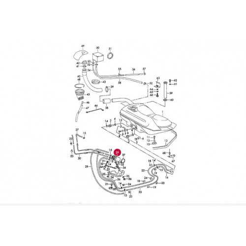 Porsche 911 Carrera RS S Engine MFI Fuel Pump MFI