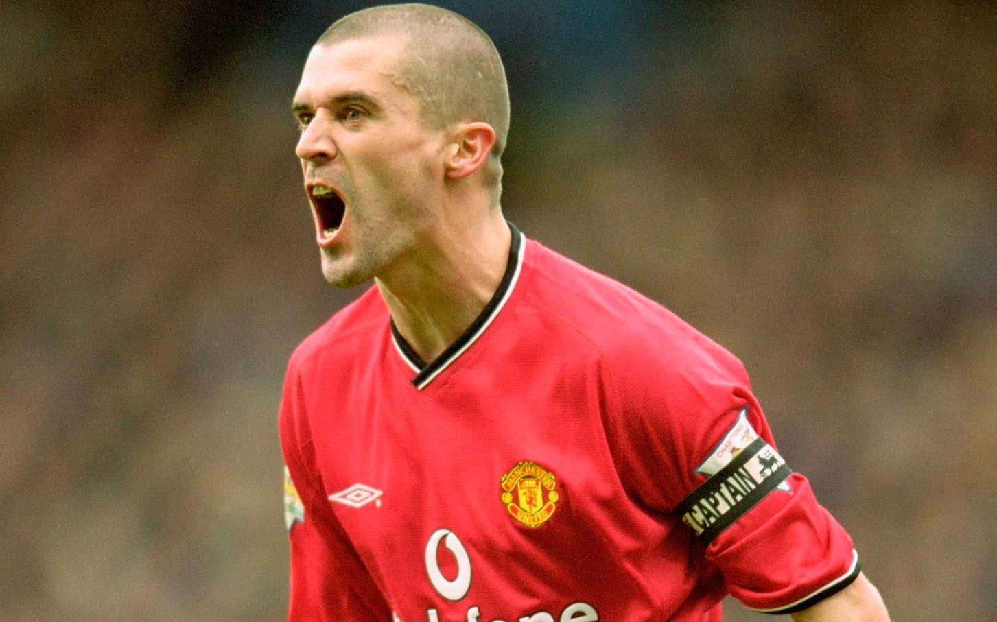 """Roy keane and eric cantona in action #mufc"""". Roy Keane - Lessons in Leadership   Marko Srsan"""