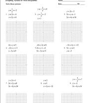 Algebra 2 Worksheet 3 3 Solving Systems Of Inequalities By