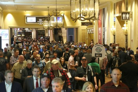 Droves of People at SHOT Show