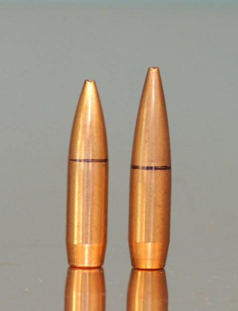 Sierra bullets compared.