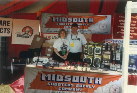 Dirt and Connie King in the early days at Midsouth Shooters