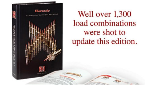 the new hornady reloading manual 10th edition