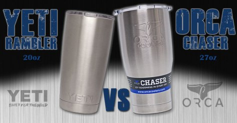 The Yeti Rambler vs the ORCA Chaser