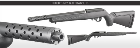 """The 16.12-inch tensioned barrel features a 1/2""""-28 threaded muzzle and is fitted with a thread cap, which can be removed to allow for the use of muzzle accessories."""
