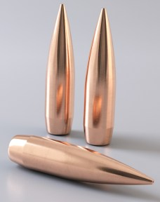 close up of the RDF Nosler Bullet