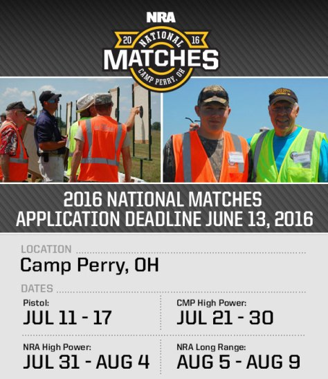 2016 NRA National Matches
