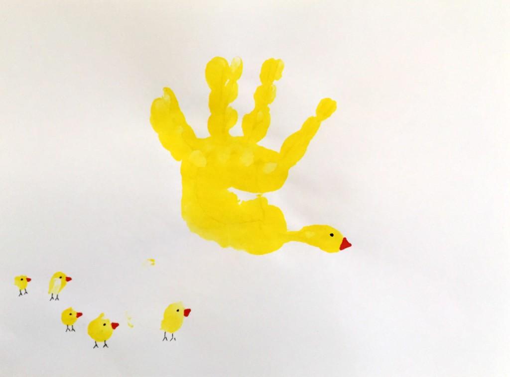 Preschool Handprint Calendars