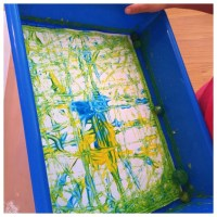 Marble Painting - Ms. Stephanie's Preschool