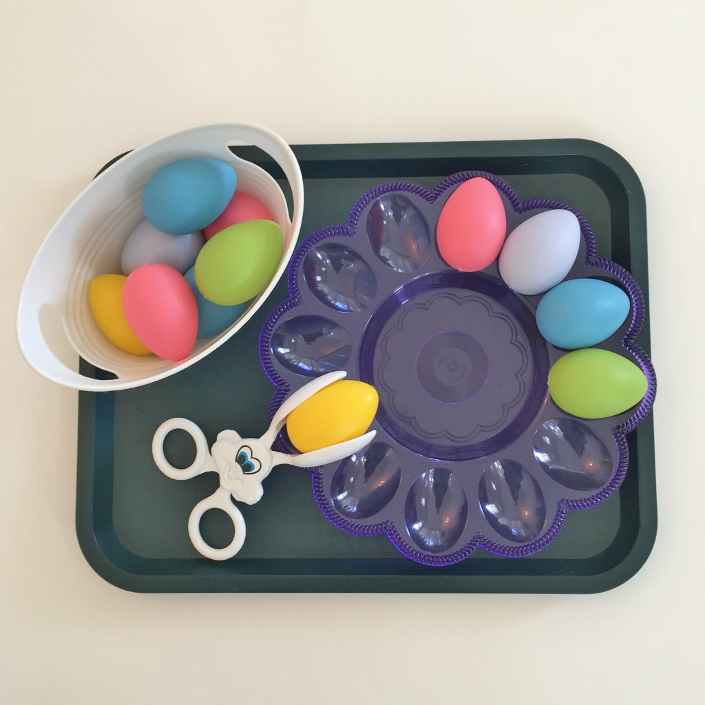 Easter Shelf Activities In The Preschool Classroom