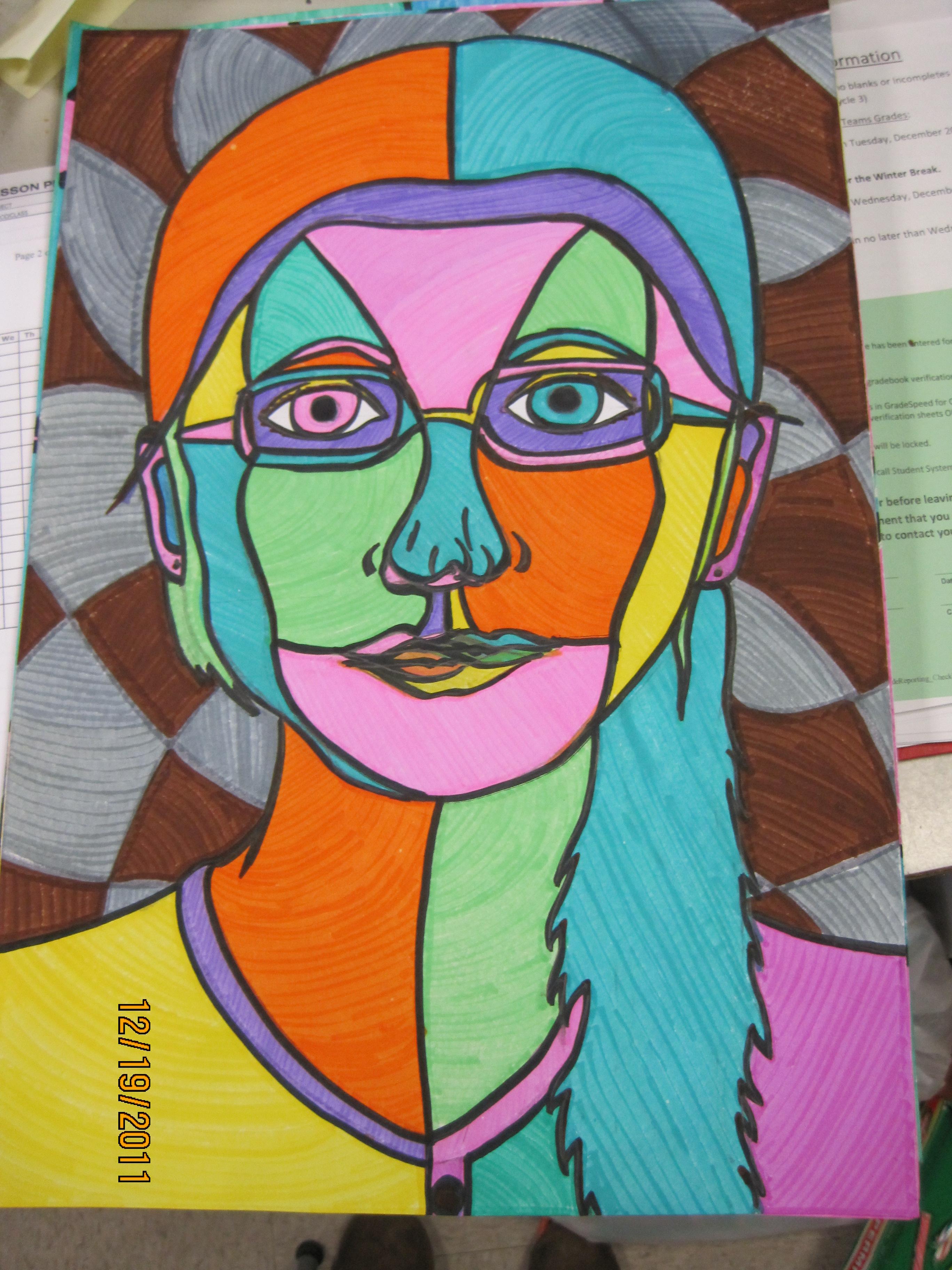 Pablo Picasso Self Portrait For Kids