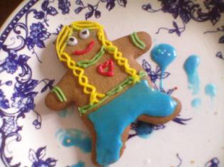 Gingerbread Heidi