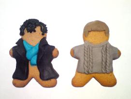 Gingerbread Sherlock