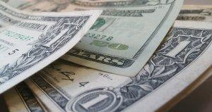dollars, banknotes, money
