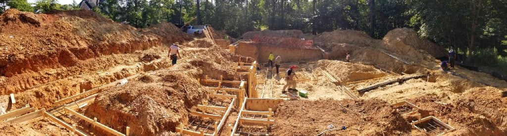 City of Raleigh basement dig
