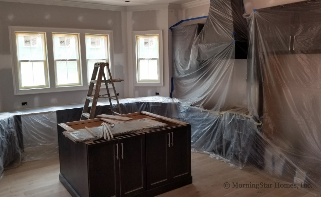 Kitchen Cabinets are installed!