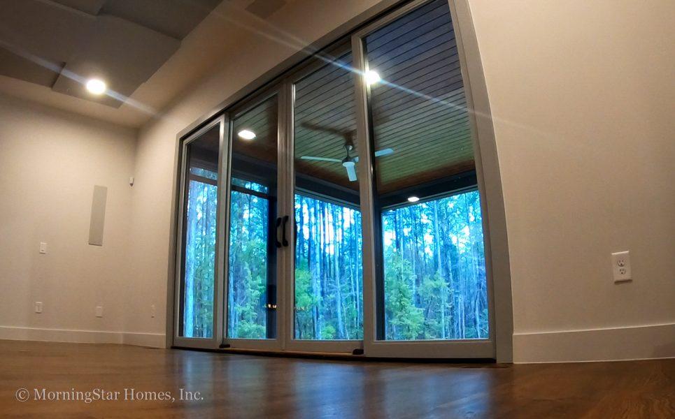 Extra-wide sliding door