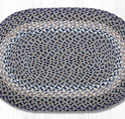 Blue Natural 02-005 Oval 20x30