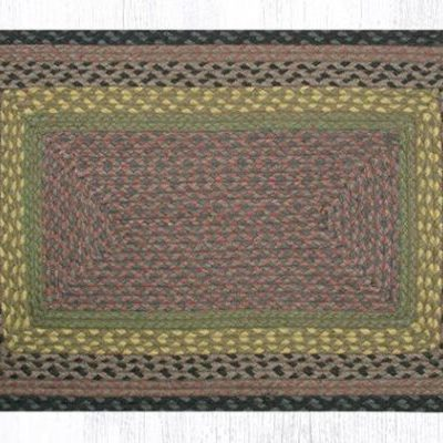 Brown Black Charcoal 22-099 Rectangle 20x30