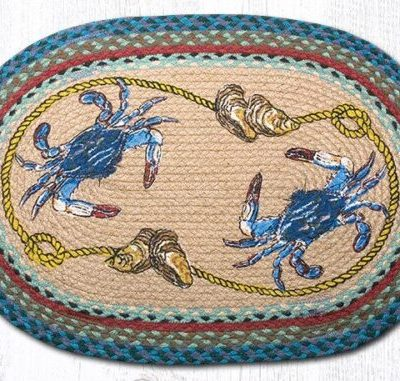 Blue Crab 65-359BC Oval 20x30