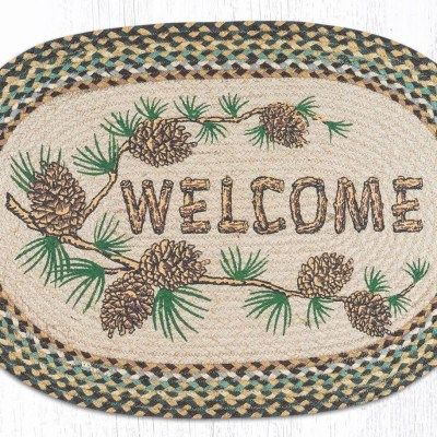 Welcome Patch 65-051WP 20x30 Oval