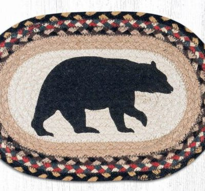 American Bear 81-043AB Oval Accent Met 10 x 15