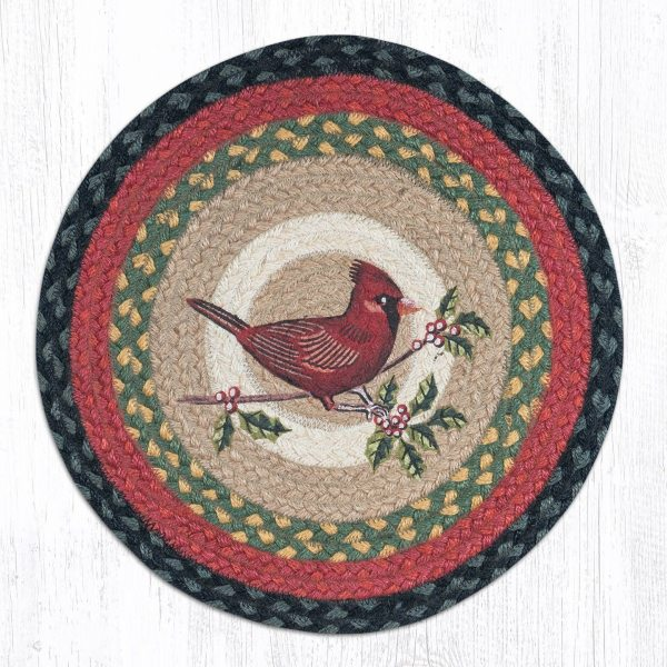 Cardinal Braided Jute Chair Pad 238 Morning Star Home Accents