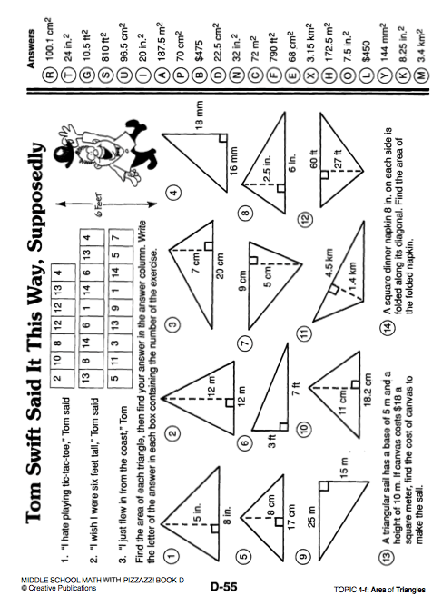 Math Pizzazz Worksheets Answers D59. Math. Best Free