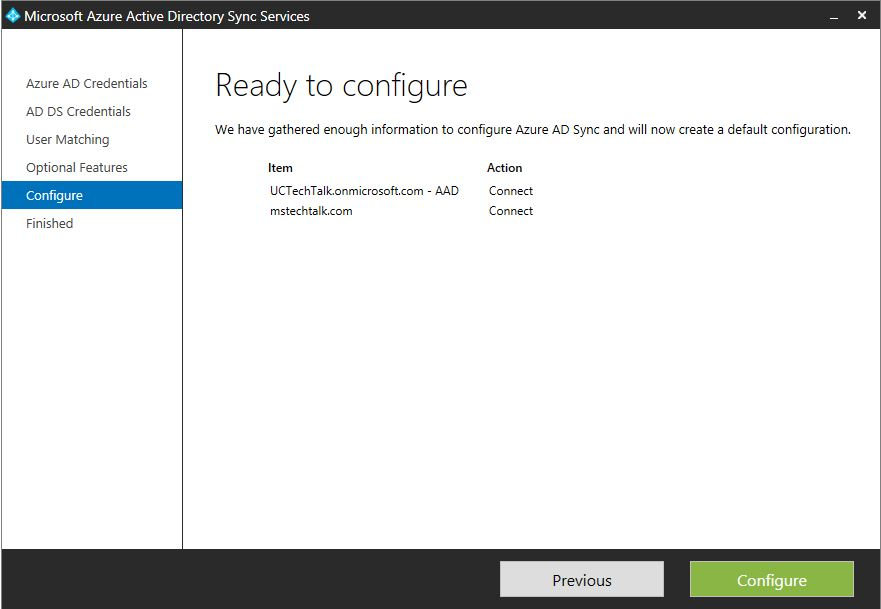 Step by Step Azure AD Sync Installation Guide