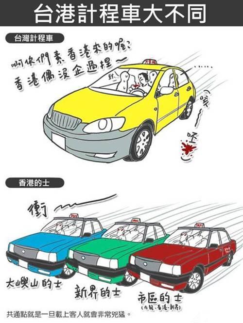 difference between hong kong and taiwan 18