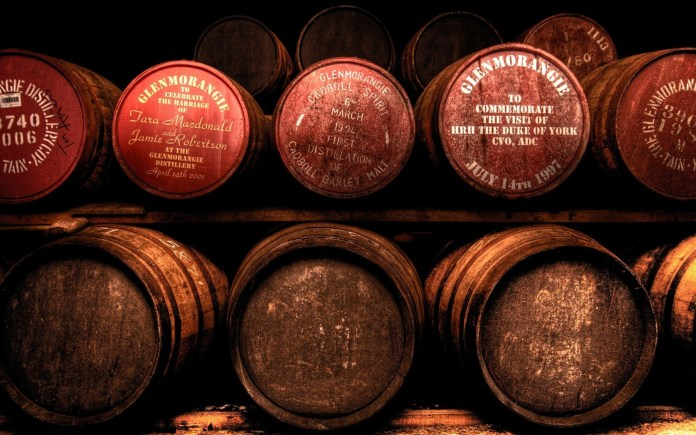 Wine Barrels hd wallpaper