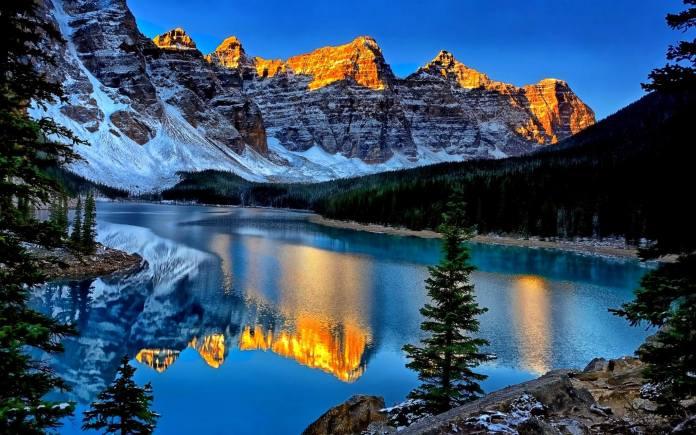 moraine lake .. Canada - (1)